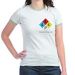 Polymerization Women's Ringer T-Shirt