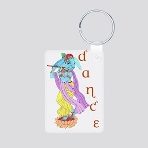 Hare Krishna Dance ! Aluminum Photo Keychain