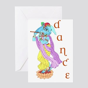 Hare Krishna Dance ! Greeting Card