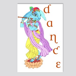 Hare Krishna Dance ! Postcards (Package of 8)