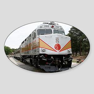 Railway locomotive, Grand Canyon, A Sticker (Oval)
