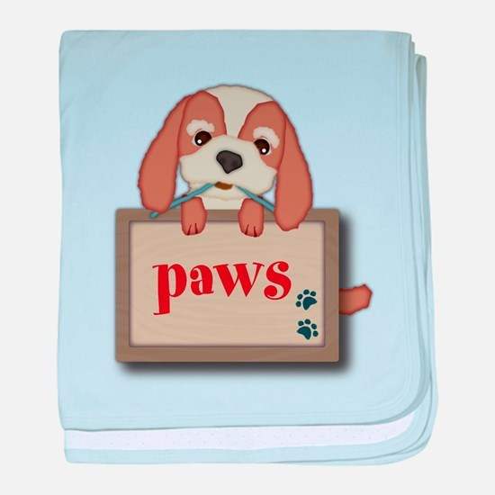 Customisable Cute Puppy Dog with Signboard baby bl