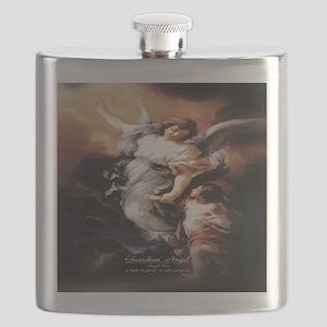 Guardian Angel Angele Dei Flask
