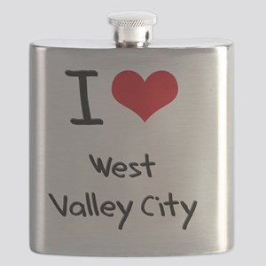 I Heart WEST VALLEY CITY Flask
