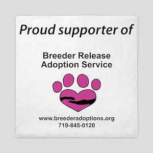 Breeder Release Adoption Service Queen Duvet