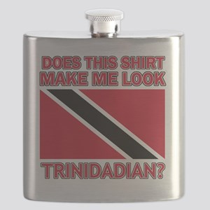 Does This Shirt Make Me Look Trinidadian? Flask