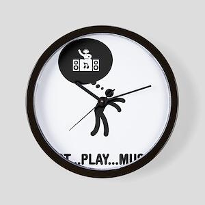 DJ-A Wall Clock