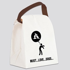 Dog-Lover-C Canvas Lunch Bag