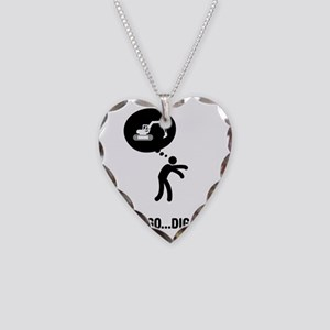 Excavator-A Necklace Heart Charm