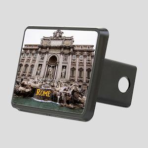 Rome_11x9_TreviFountain Rectangular Hitch Cover