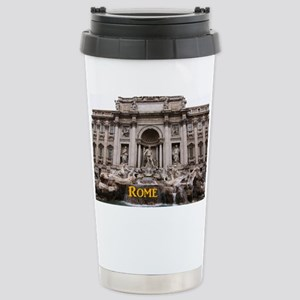 Rome_11x9_TreviFountain Stainless Steel Travel Mug