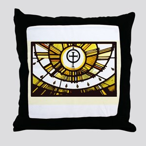 Sunlight and Faith Throw Pillow
