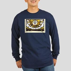 Sunlight and Faith Long Sleeve Dark T-Shirt