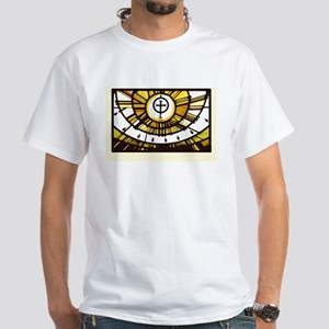 Sunlight and Faith White T-Shirt