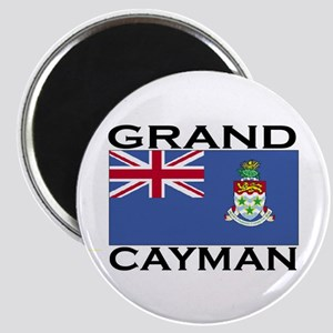 Grand Cayman Flag Magnet