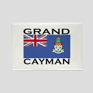 Grand Cayman Flag Rectangle Magnet