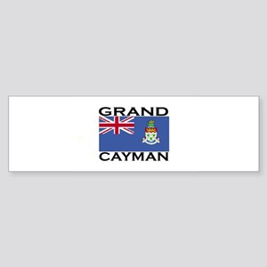 Grand Cayman Flag Bumper Sticker