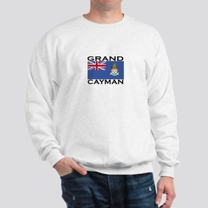Grand Cayman Flag Sweatshirt