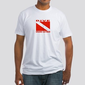 Dive Grand Cayman Fitted T-Shirt