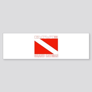 Dive Grand Cayman Bumper Sticker