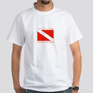 Dive Grand Cayman White T-Shirt