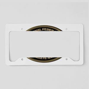 Go Big or Go Home Walleye License Plate Holder