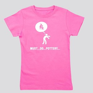 Pottery-D Girl's Tee