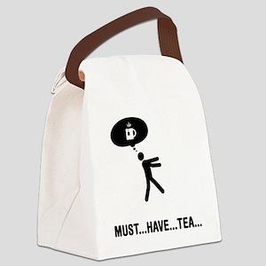 Tea-A Canvas Lunch Bag