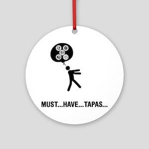Tapas-A Round Ornament