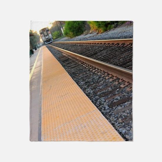 Ventura Train Station Throw Blanket