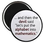 Mathematics Has The Alphabet Magnet