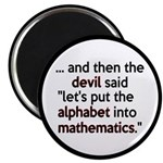 Mathematics Has The Alphabet 2.25
