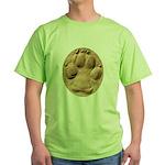 Dog Track Plain Green T-Shirt
