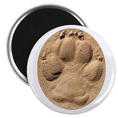 Dog Track Plain Magnet