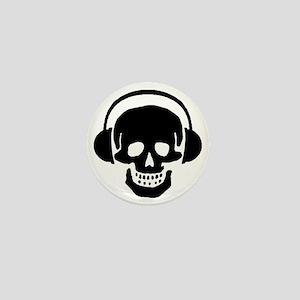 Skull Headphones-1 Mini Button