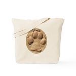Dog Track Plain Tote Bag