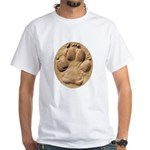 Dog Track Plain White T-Shirt