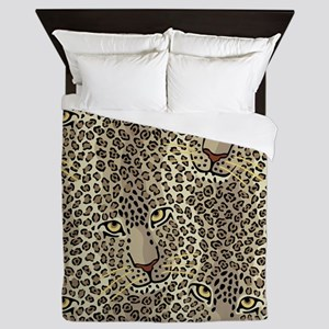 Wild Cats Queen Duvet