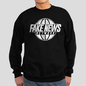 Fake News Network Distressed Sweatshirt