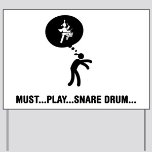 Marching-Band---Snare-Drum-C Yard Sign