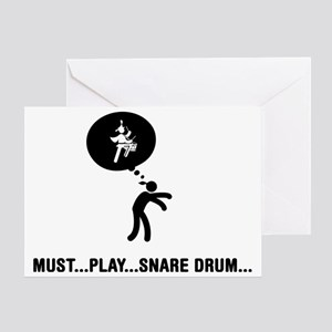 Marching-Band---Snare-Drum-C Greeting Card
