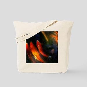 Painted Fish Tote Bag