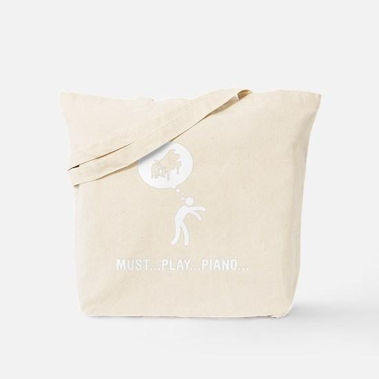 Pianist-D Tote Bag