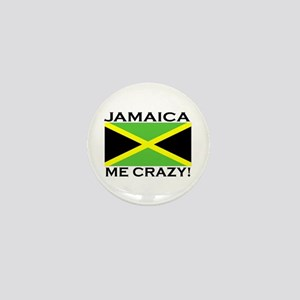 Jamaica Me Crazy! Mini Button