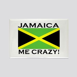Jamaica Me Crazy! Rectangle Magnet