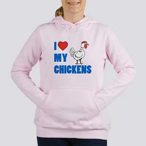 I Love My Chicken Sweatshirt