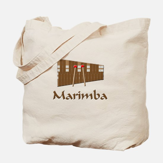 marimba percussion musical instrument Tote Bag