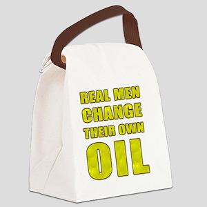 Oil Change Canvas Lunch Bag