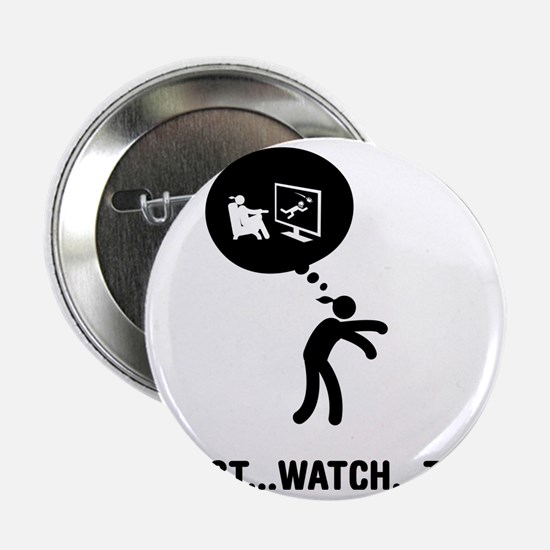 "TV-Watching-C 2.25"" Button"