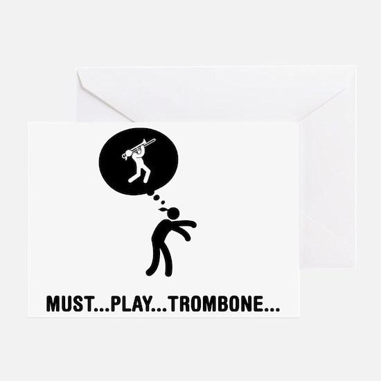 Trombone-Player-C Greeting Card